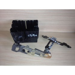 fixation batterie avec porte batterie cb750