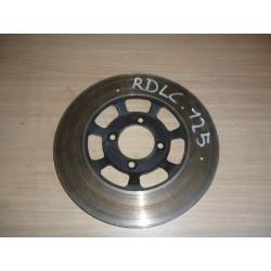 125 RDLC disque de frein avant