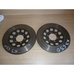 650 XJ disque de frein avant