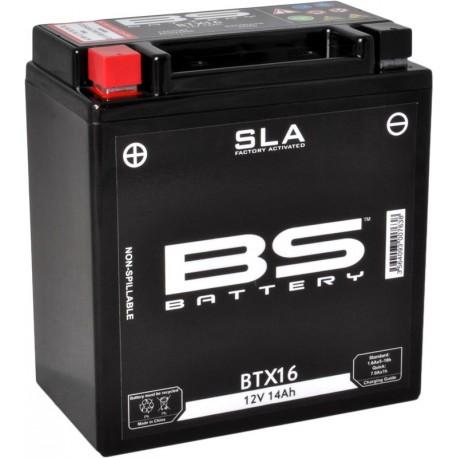 BATTERIE BS BTX16 SLA