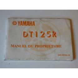 MANUEL DU PROPRIETAIRE 125 DT R