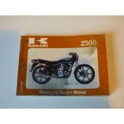MANUEL DU PROPRIETAIRE Z500