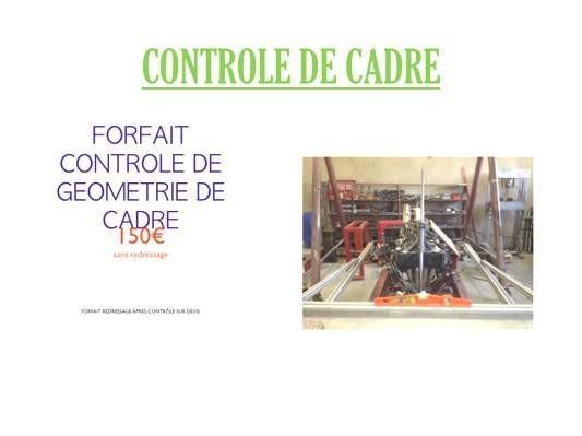 controle de cadre